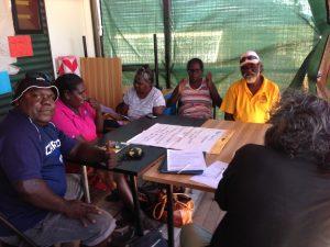 Yalu' researchers at Galiwin'ku