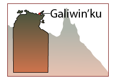 Galiwin'ku map